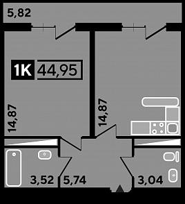 ЖК «Студия 45»